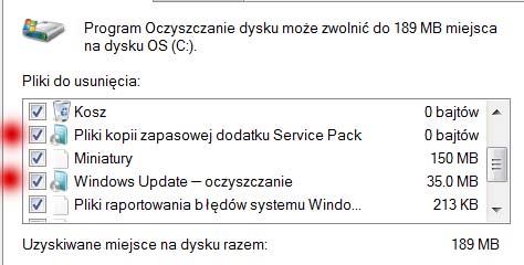 Oczyszczanie Windows Update