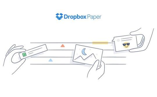 Dropbox Paper – edytor tekstu